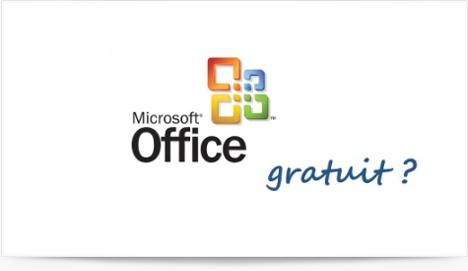 Microsoft Office gratuit dans sa version en ligne