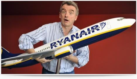 Nouvelle offre : voyager debout avec la compagnie Ryanair