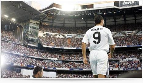 Présentation de Cristiano Ronaldo au Real Madrid