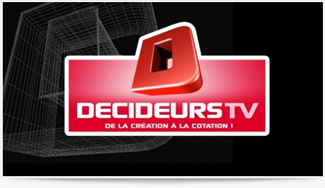 Decideurstv, nouvelle tlvision business sur internet