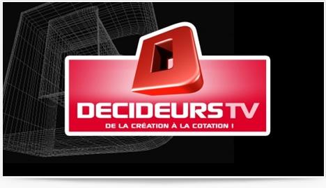 Decideurstv, nouvelle télévision business sur internet