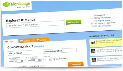 Le comparateur et réseau social MonNuage.fr
