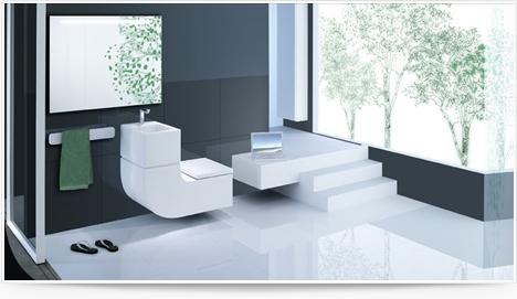 Toilettes W+W, par Roca