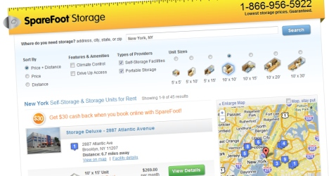 La startup sparefoot propose des locations entre particuliers