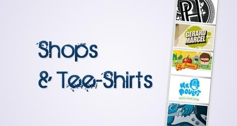 10 Boutiques en lignes pour tee shirts !