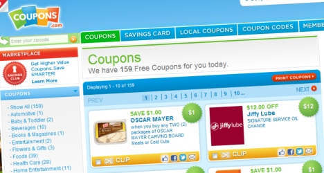 Coupons réductions