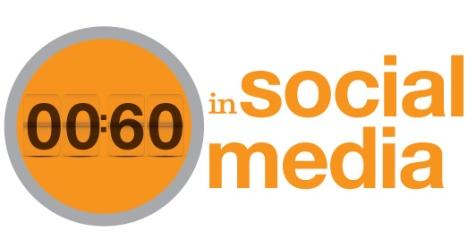60 secondes, statistiques sur les réseaux sociaux