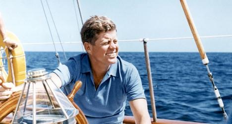 """JFK, le premier des """"people"""" politiques ?"""