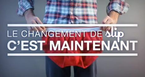 Le changement de slip, par le Slip Franais