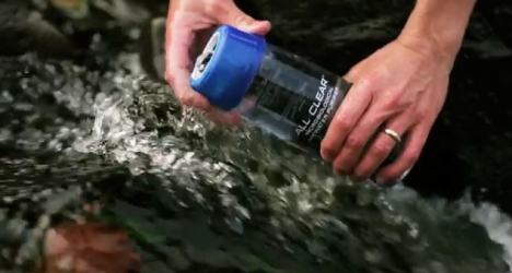 Le purificateur d'eau portable camelbak all clear