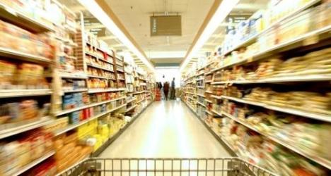 Consommation au supermarché