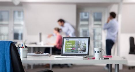 bureaux partager ou la colocation d entreprises. Black Bedroom Furniture Sets. Home Design Ideas
