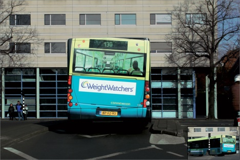 Weight Watchers publicite trompe l'oeil