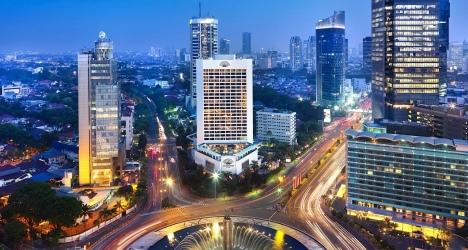 Centre ville de Jakarta, une économie asiatique en plein boom