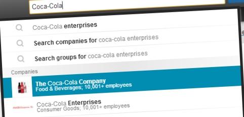 Suivre une compagnie sur Linkedin