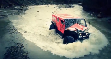Ghe-O Rescue, le 4x4 à la roumaine