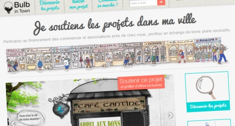 Bulb in Town, l'art du financement participatif local