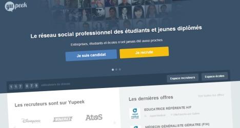 Yupeek, réseau social professionnel pour étudiants et jeunes diplômés